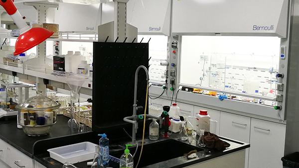 上海中科院有机所新建实验室层流幕通风柜应用
