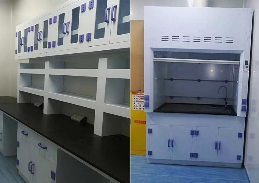1苏州施莱医疗器械新建实验室通风柜实验台及通风系统应用