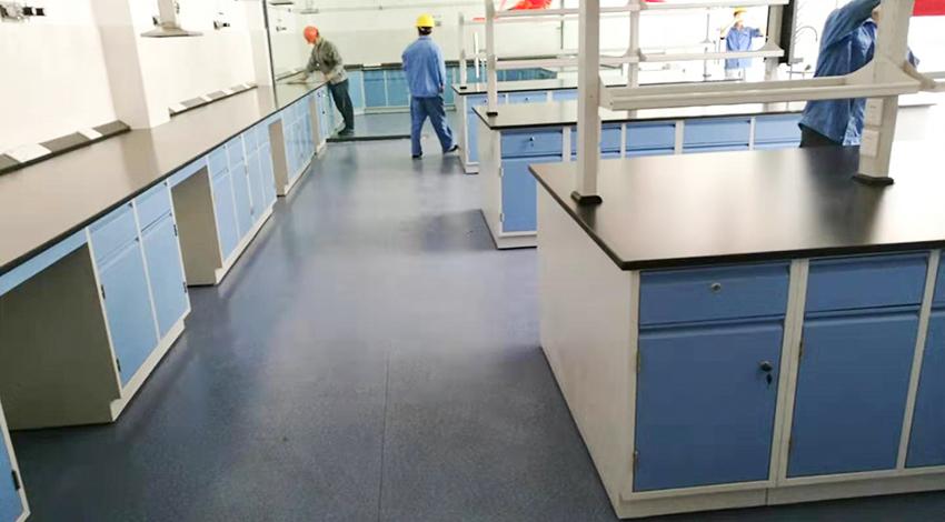 江苏康达检测实验室新建和实验室改造通风柜实验台应用