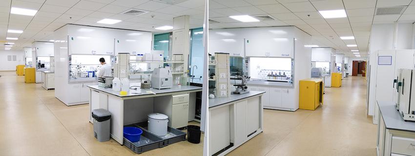 江苏豪森医药上海研发中心实验室改造工程
